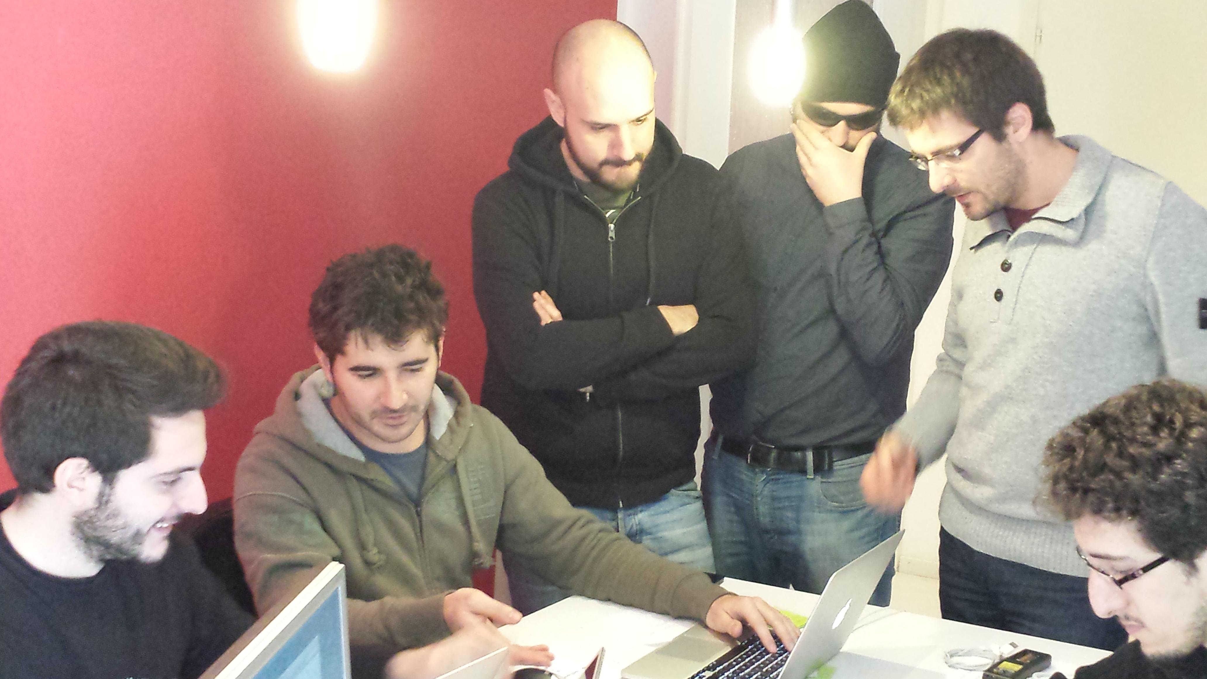 redBit games - Team at work