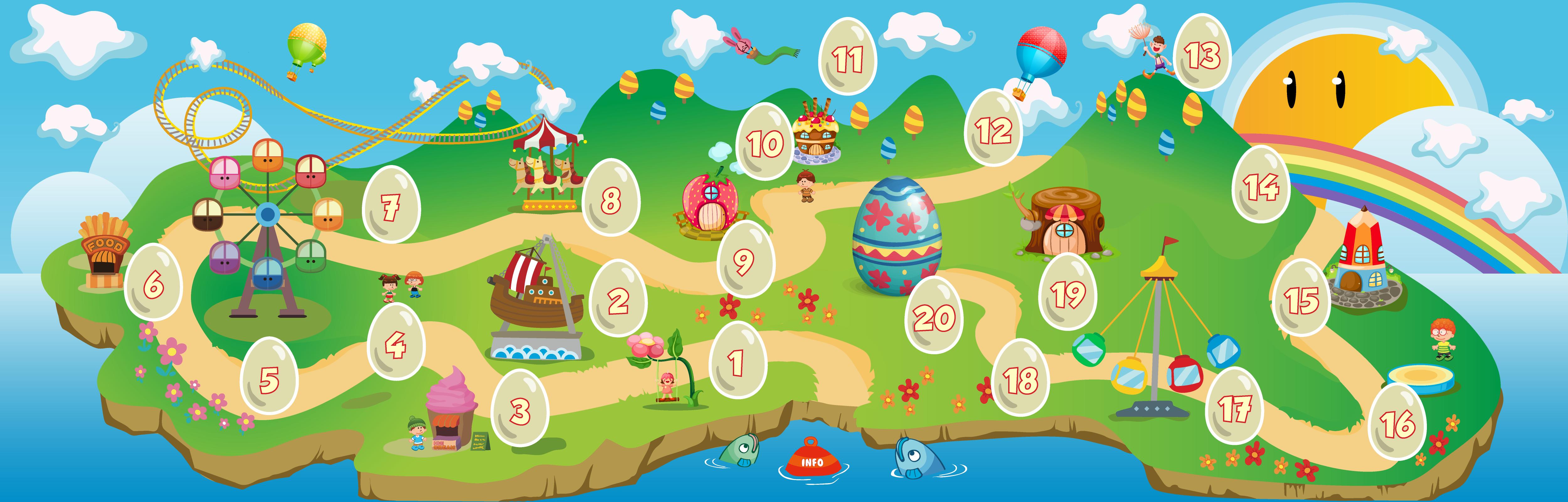 Easter Calendar 2014